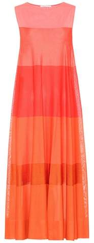 Agnona Striped jersey maxi dress