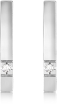 Forzieri 0.02 ctw Diamond Bar Earrings