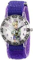 Disney Kids' W001678 Tinker Bell Analog Display Analog Quartz Purple Watch