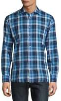 Robert Talbott Crespi Casual Checked Sportshirt