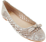 Vince Camuto Perforated Leather Flats - Celindan