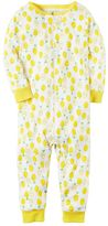 Carter's Baby Girl Lemon One-Piece Pajamas