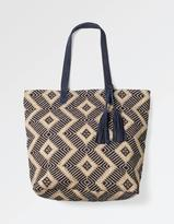 Fat Face Tia Hessian Weave Shopper Bag