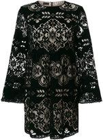 Ermanno Scervino short mesh pattern dress