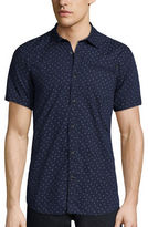 i jeans by Buffalo Short-Sleeve Mick Woven Cotton Shirt
