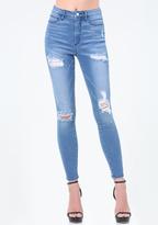 Bebe Memento Heartbreaker Jeans
