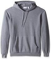 Lacoste Men's Milano Stitch Hoody Cotton Sweater with Kangaroo Pockets
