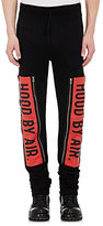 Hood by Air MEN'S LOGO-FRONT SWEATPANTS