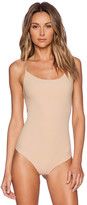Commando Classic Bodysuit Thong in Beige