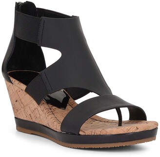 Donald J Pliner Maraa Leather Wedge Sandal