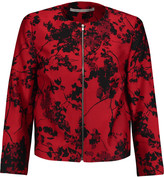 Diane von Furstenberg Gabrielle printed wool and silk-blend jacket