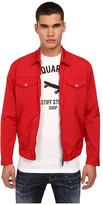 DSQUARED2 Windbreaker Nylon Shirt Jacket