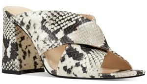 Nine West Gigi Crossband Mules Women's Shoes