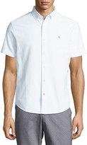 Original Penguin Basic Short-Sleeve Oxford Shirt, Blue