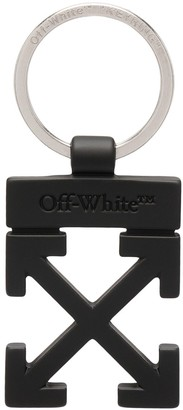 Off-White Arrows motif keyring