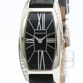 Tiffany & Co. Black White gold Watches