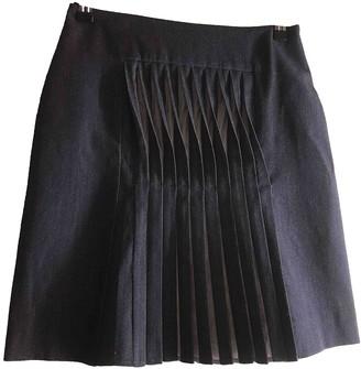 Richard Nicoll Blue Wool Skirt for Women