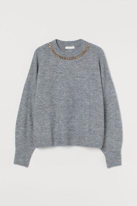 H&M Chain-detail Sweater