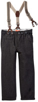 Joe Fresh Suspendered Pant (Toddler & Little Boys)