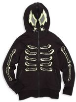 Stella McCartney Little Boy's & Boy's Skeleton Hooded Jacket