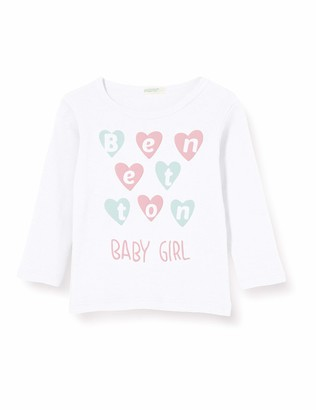 Benetton Baby Girls M/l Longsleeve T-Shirt