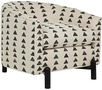 Kim Salmela Nelson Chair - Triangle Onyx/Natural