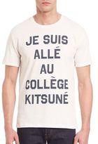 MAISON KITSUNÉ College Kit Tee