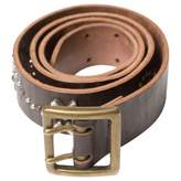 Zadig & Voltaire Brown Leather Belt