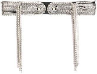 Christopher Kane Fringed Chain Belt