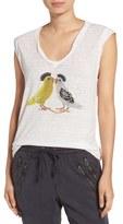 Pam & Gela Mohawk Birds Tank