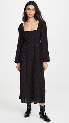 Free People Iris Midi Dress