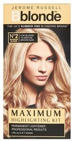 Jerome Russell B Blonde No 2 Maximum Highlighting Kit