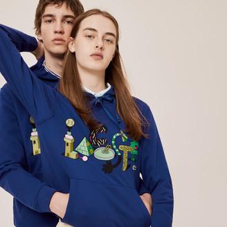 Lacoste Unisex x Jeremyville Print Hooded Sweatshirt