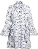 Sister Jane MALIBU EMBROIDERED Day dress white