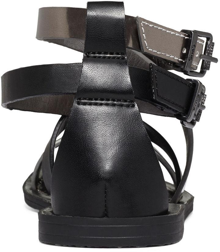 Sam Edelman Circus by Maxon Criss Cross Flat Sandals