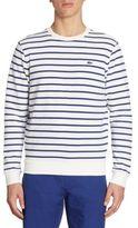 Lacoste Striped Fleece Sweatshirt