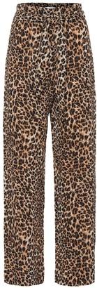 Nanushka Luma leopard-printed pants