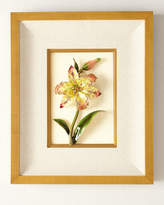 Jay Strongwater Swarovski&174 Crystals Lily Wall Art