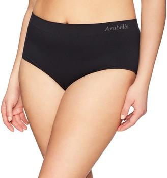 Arabella Amazon Brand Women's Seamless Brief Panty 3 Pack