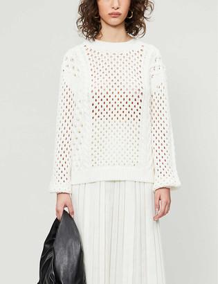 Reiss Lauren cotton-blend jumper