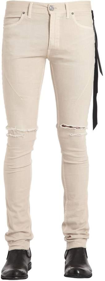 BEIGE Seigeki 16cm Skinny Vanilla Denim Jeans