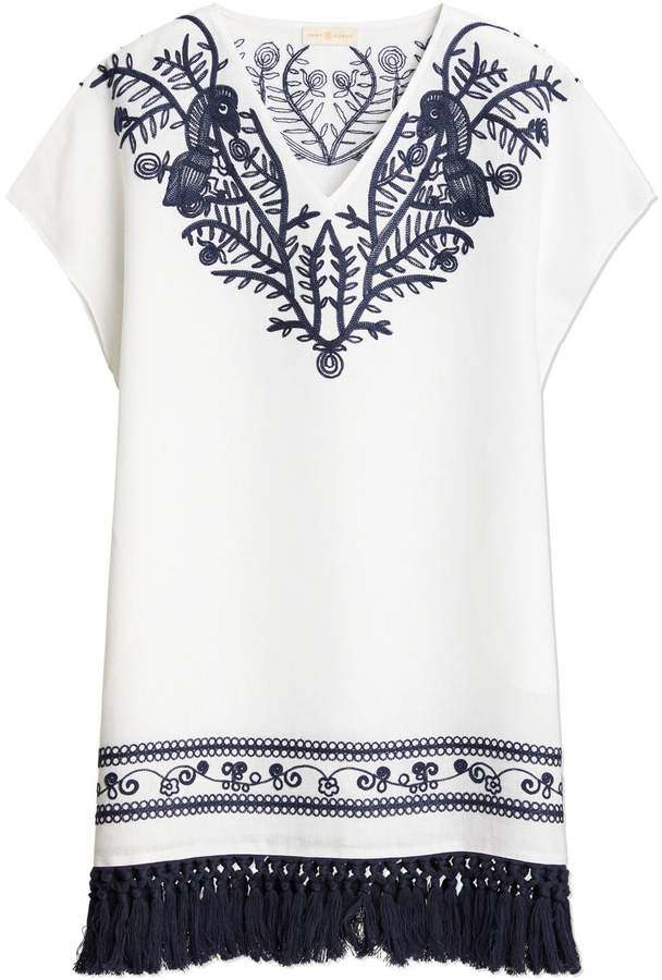 b98cc3f396 Tory Burch Embroidered Dresses - ShopStyle