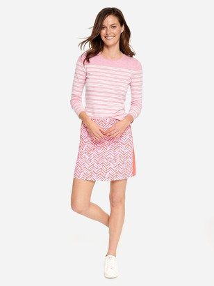 J.Mclaughlin Palm Spring Skort in Ladder Geo Solid