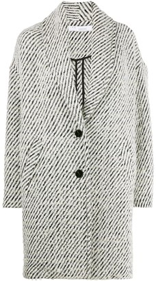 IRO Shawl-Lapel Single Breasted Coat