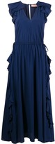 Twin-Set Twin Set ruffle-trim maxi dress