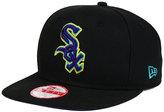 New Era Chicago White Sox Aqua Hook Basic 9FIFTY Snapback Cap