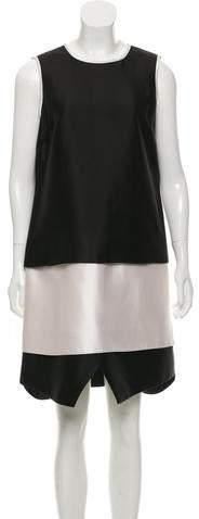 Prabal Gurung Bicolor Silk-Blend Dress