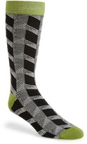 Ted Baker Men's Geometric Organic Cotton Blend Socks