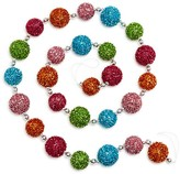 Bloomingdale's Glitter Bauble Christmas Garland