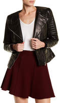 Doma Lightweight Lamb Nappa Padded Leather Jacket